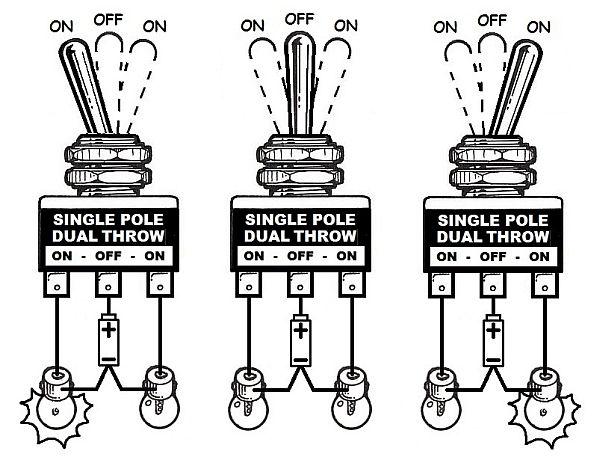 spdt switch schematic wiring diagramspdt switch schematic