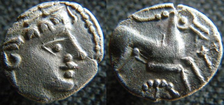 Monnaies des Allobroges Allobr10