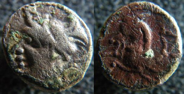 Monnaies des Allobroges Allobr16