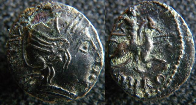 Monnaies des Allobroges Allobr30