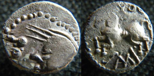 monnaies des Séquanes / COL Sequan11