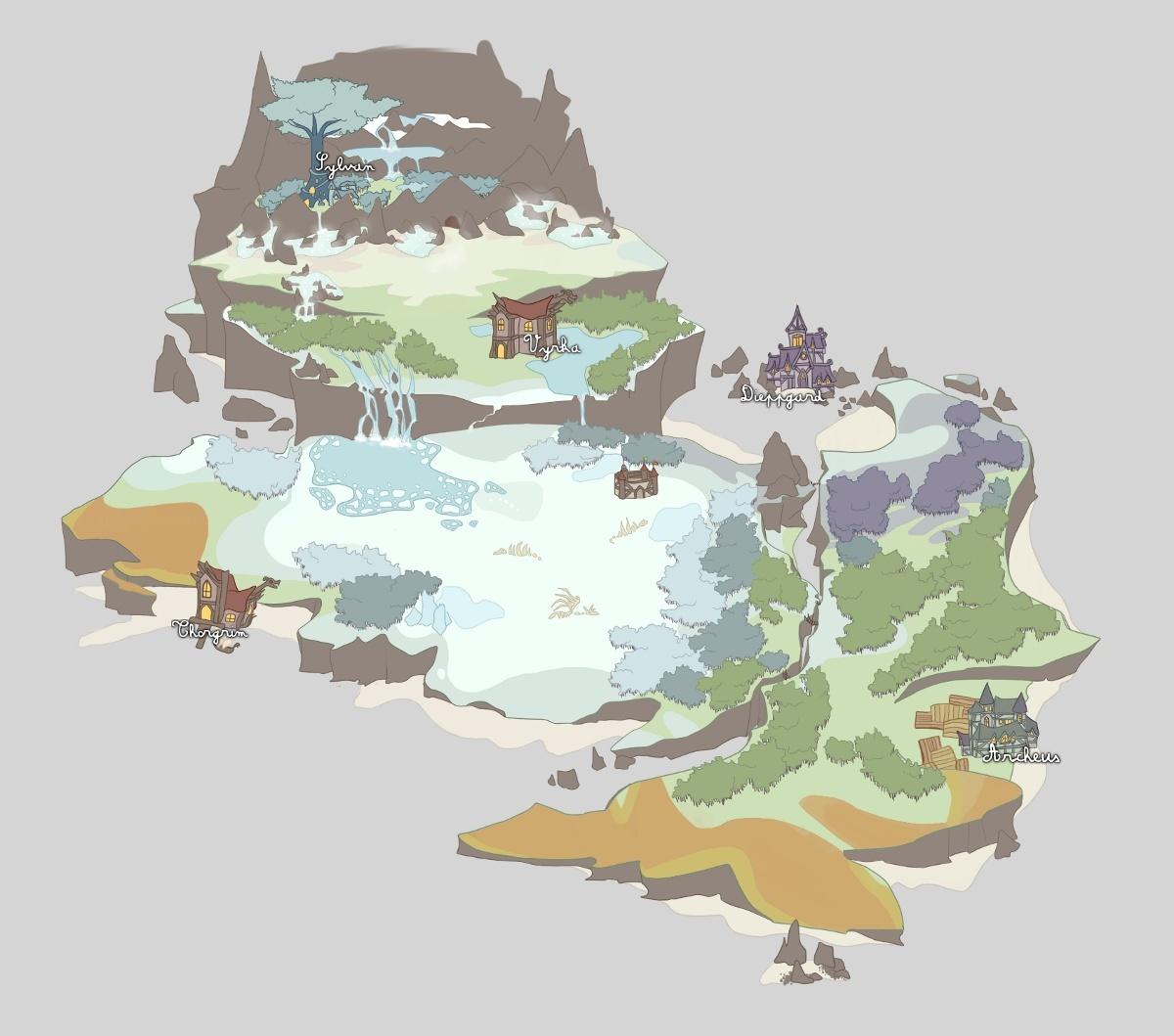 Carte de l'île Colo910