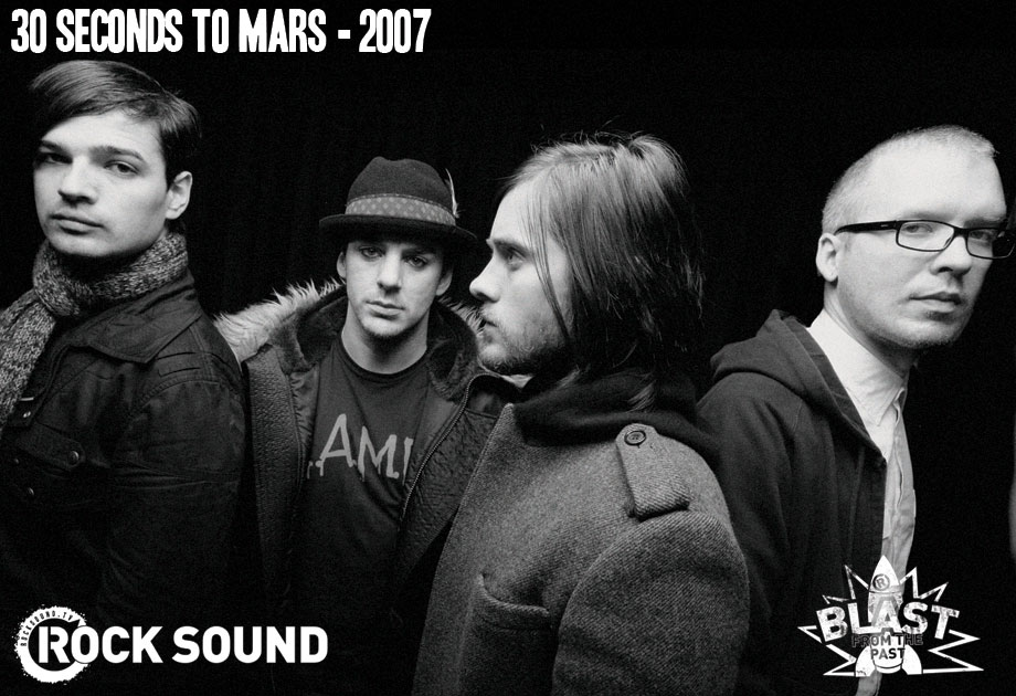 30SecondsToMars : Evolution à travers les années par RockSound 200710