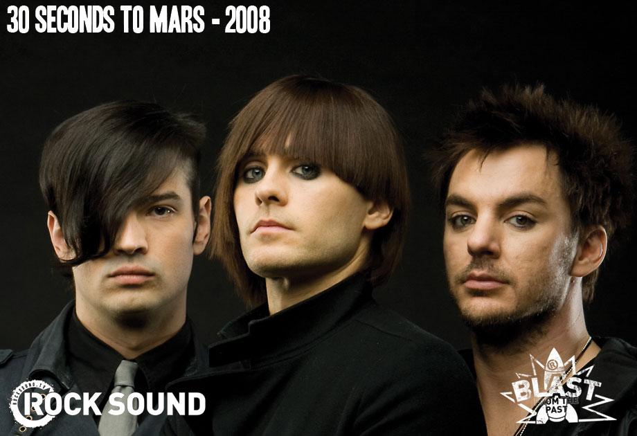 30SecondsToMars : Evolution à travers les années par RockSound 200810