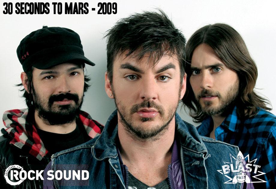 30SecondsToMars : Evolution à travers les années par RockSound 200910