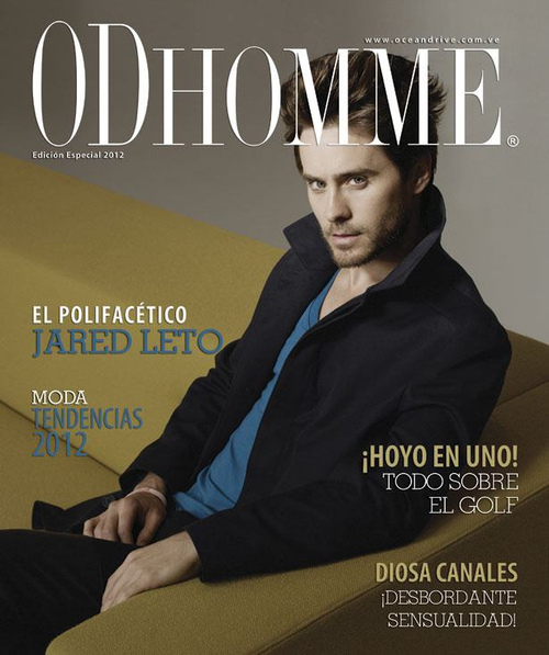 Jared Leto dans OD Homme [2012 - Venezuela] Cover_10