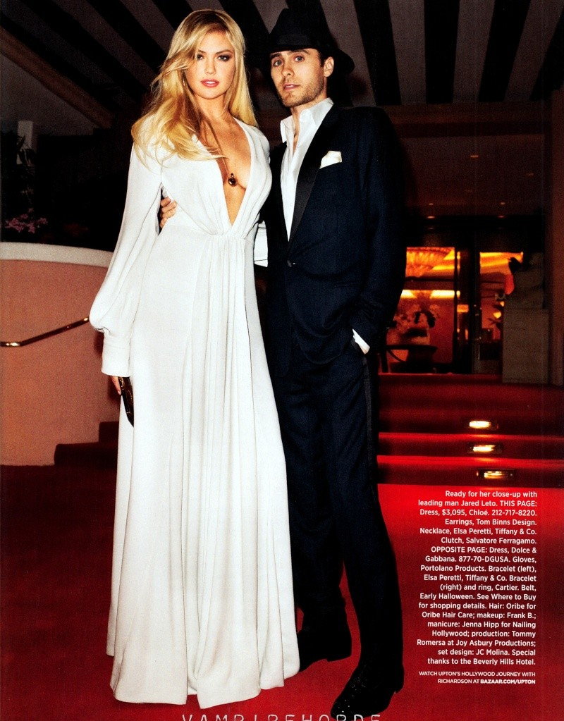 Harper's Bazaar - Jared Leto et Kate Upton [mai 2012 - USA] Harper10
