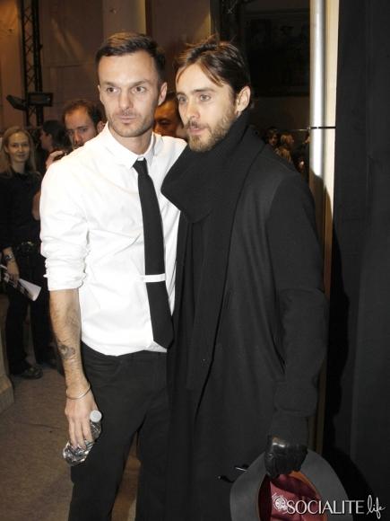 Jared Leto @ Kris Van Assche Show - Paris Jared-16