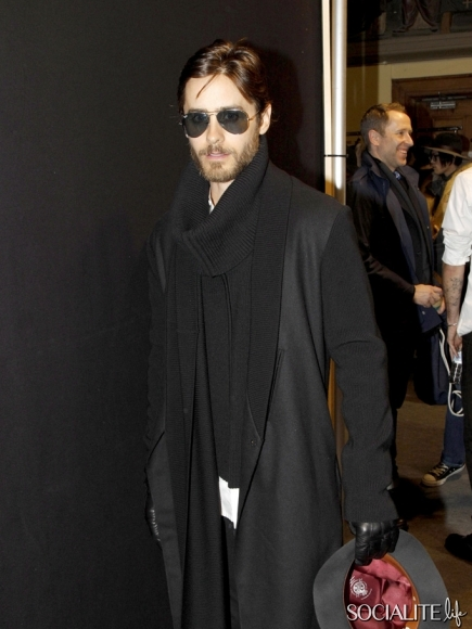 Jared Leto @ Kris Van Assche Show - Paris Jared-17