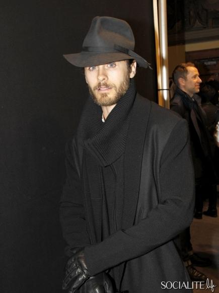 Jared Leto @ Kris Van Assche Show - Paris Jared_32