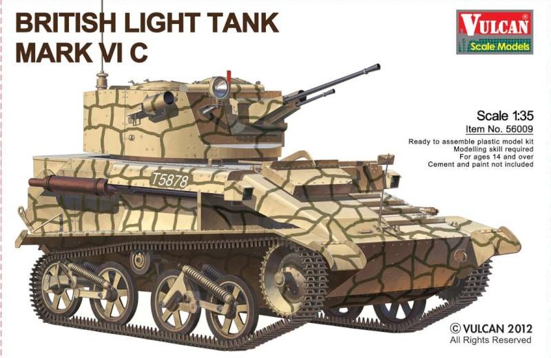 Vulcan 1/35 British Light Tank MK VI C 5600911