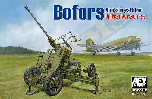 New Bofors from AFV Club Af351810