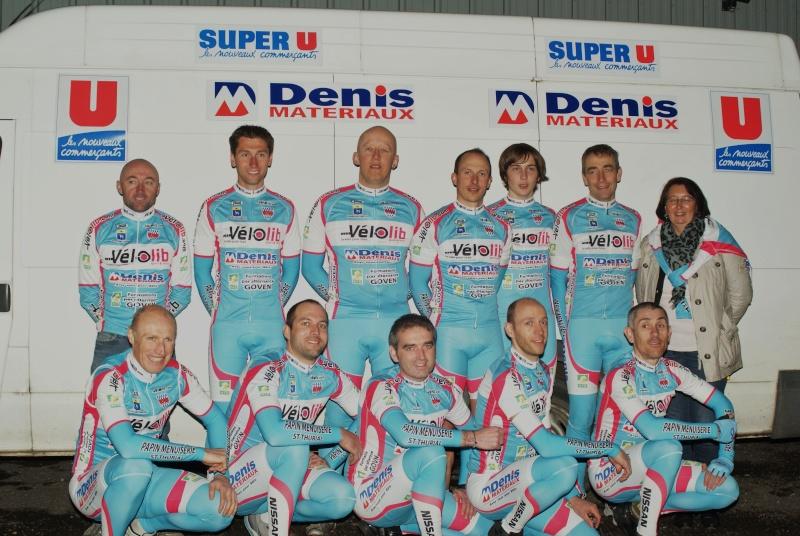 Team Velolib Denis Matériaux MFR