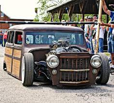 projet rat rod avec pickup Willys14