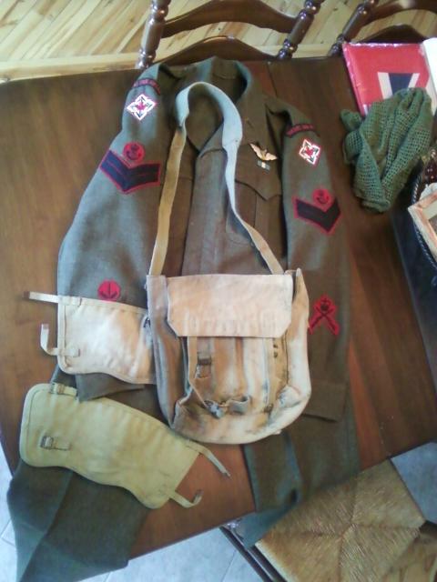 airborne queen's own rifles 2ème division 1950 11032116