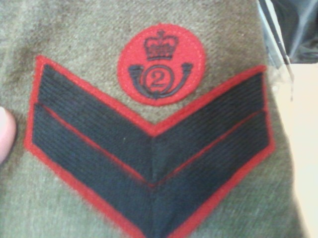 airborne queen's own rifles 2ème division 1950 11032118