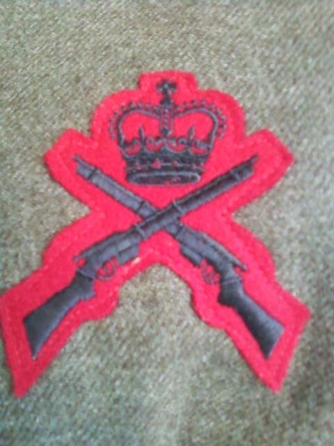airborne queen's own rifles 2ème division 1950 11032119
