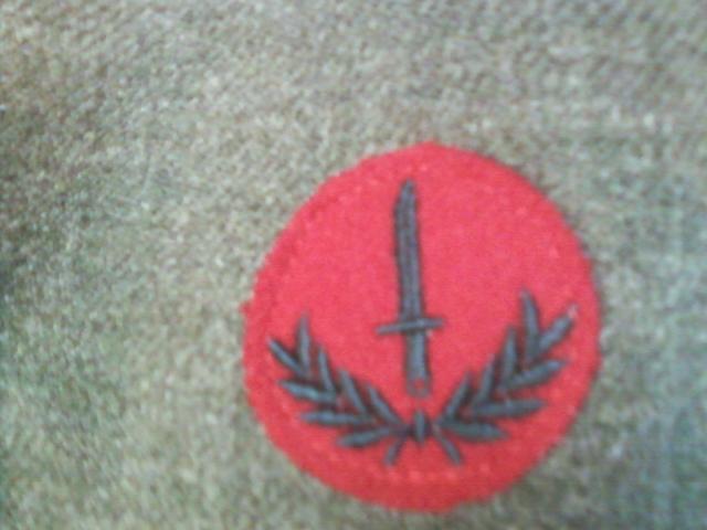 airborne queen's own rifles 2ème division 1950 11032120