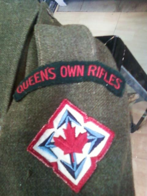airborne queen's own rifles 2ème division 1950 11032121