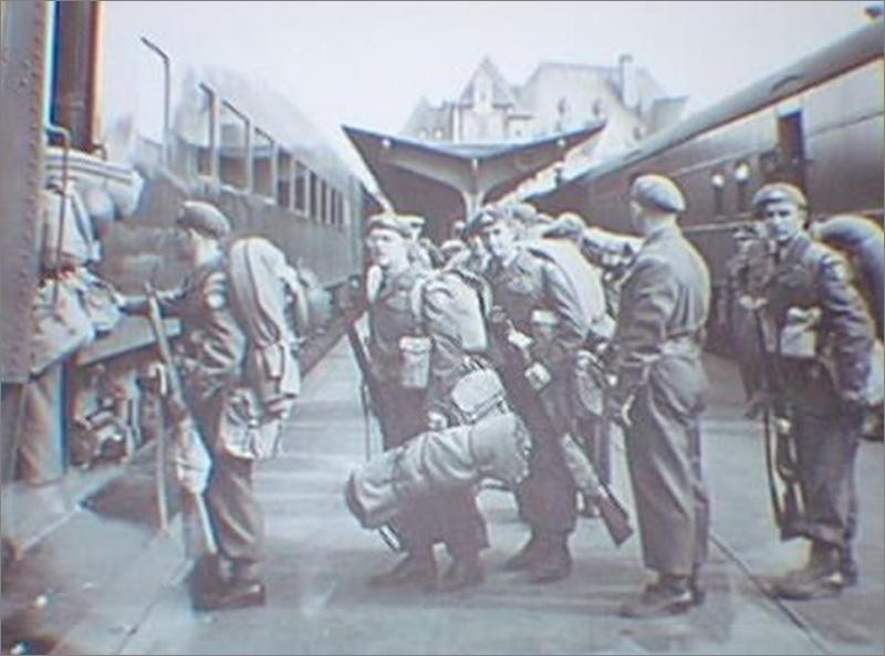 airborne queen's own rifles 2ème division 1950 Coree410