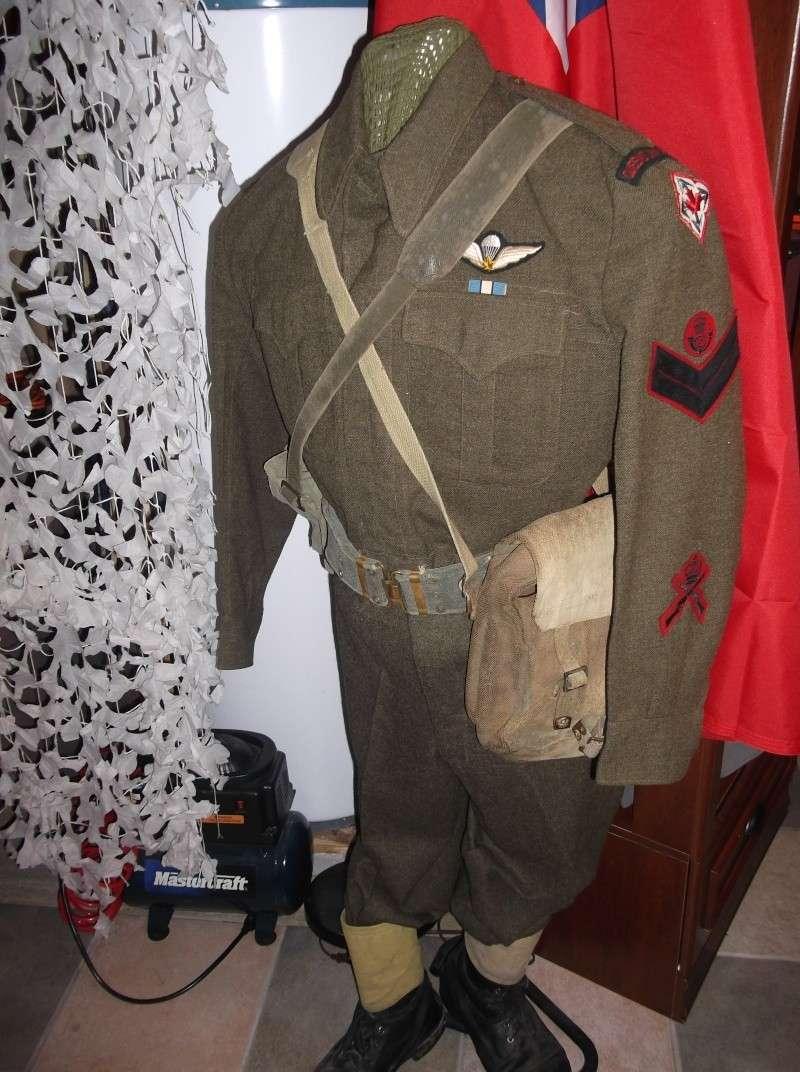 airborne queen's own rifles 2ème division 1950 Dscf0267