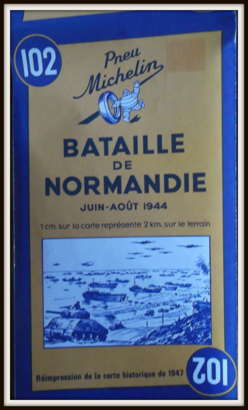 carte de la Normandie juin 1944 Dscf0626