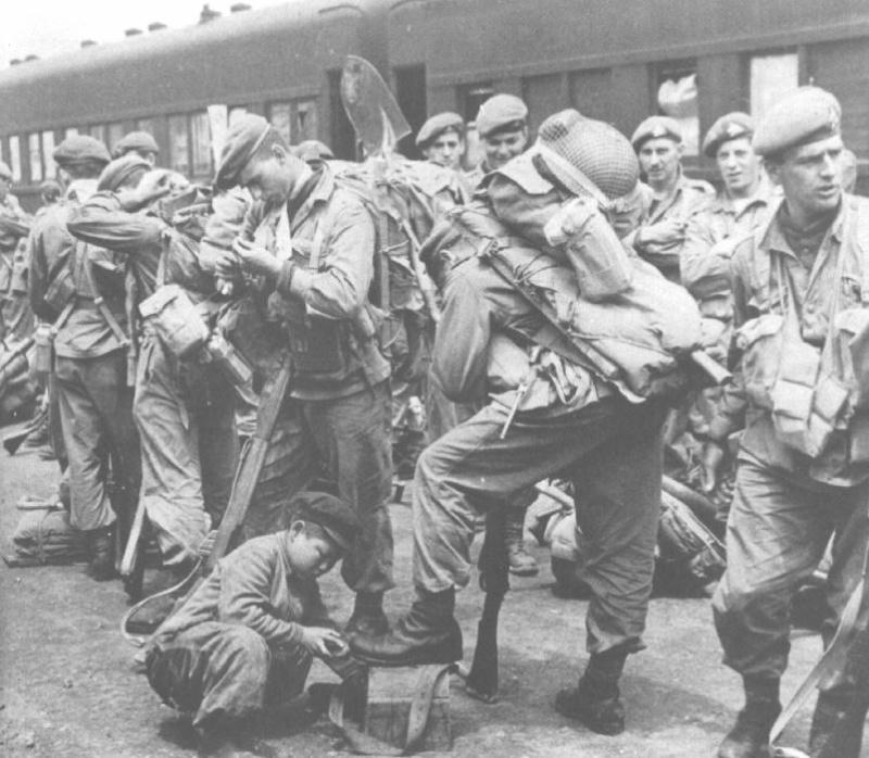 airborne queen's own rifles 2ème division 1950 Korea_10