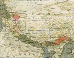 Conflit frontalier: Chine-Inde Map-ko10