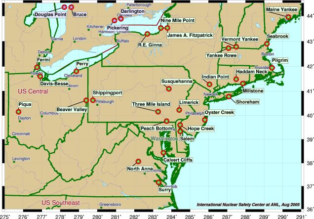 Programme nucléaire des États-Unis  Northe10