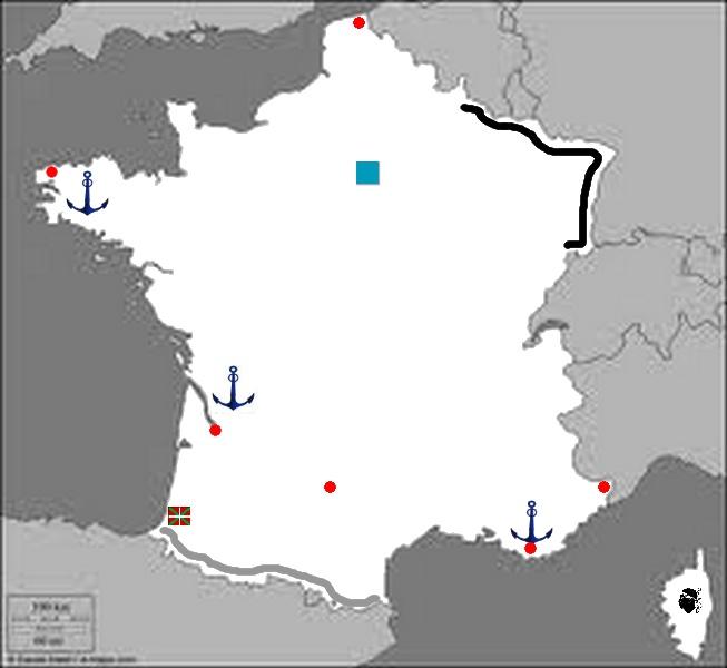 Carte de France  Sans_183