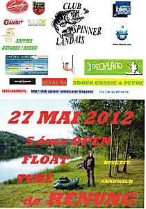 Open float Tube du Spinner Landais Img01810