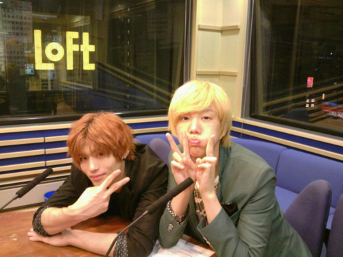 Kanjun dans une radio japonaise Tumblr11