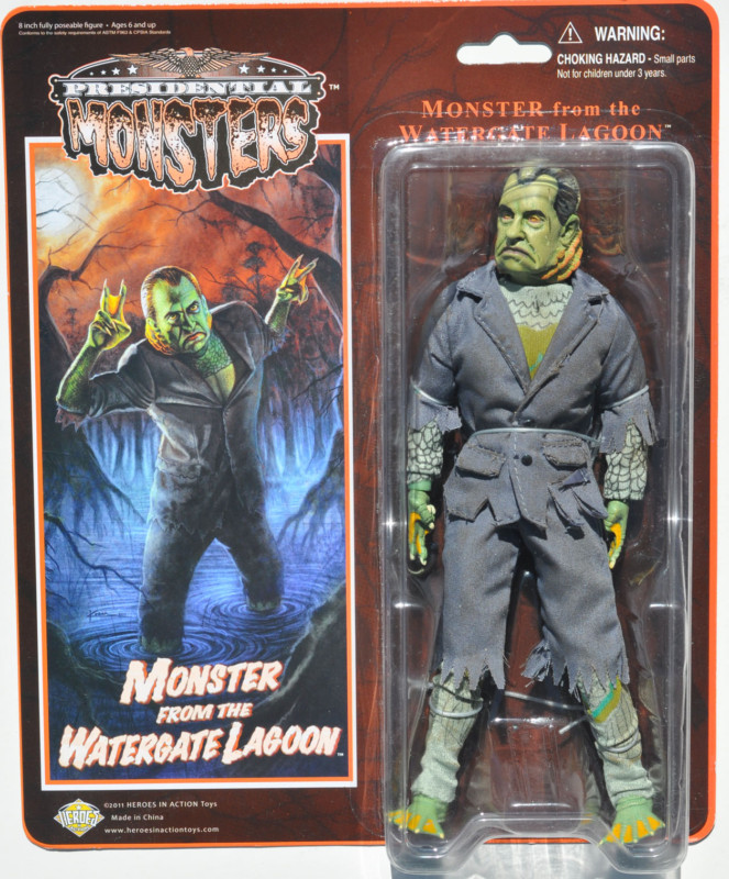 PRESIDENTIAL MONSTER by Heroes in Action Toys Kgrhqf13
