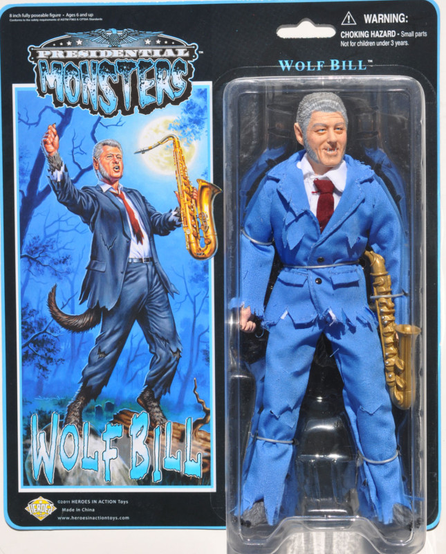 PRESIDENTIAL MONSTER by Heroes in Action Toys Kgrhqr10