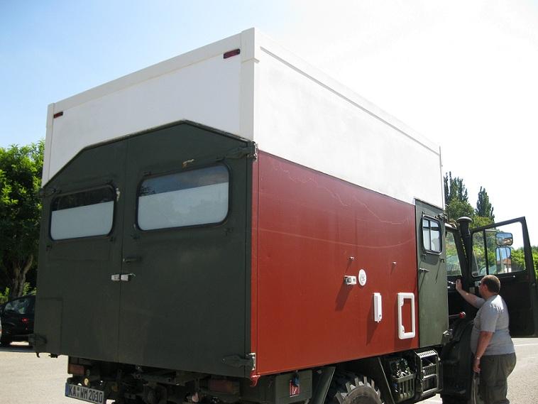 Panne Unimog 1300L entre Nancy et Metz B19