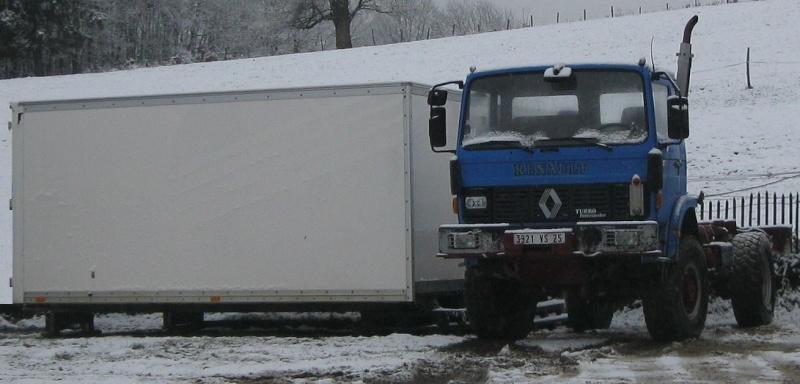 camping car à partir d'un Renault 110-170 4x4 : G112