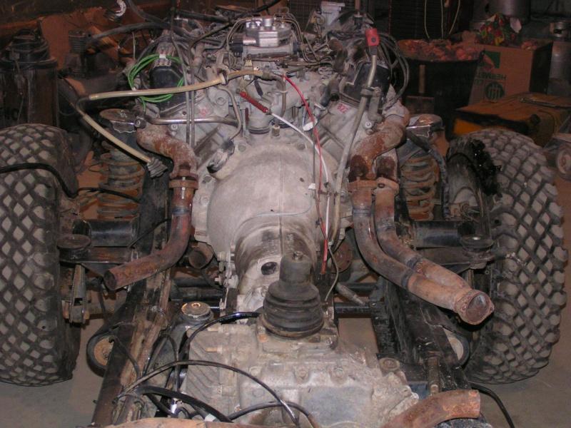 CJ 7 sur chassis mercedes et V8 mercos - Page 2 Pict5210