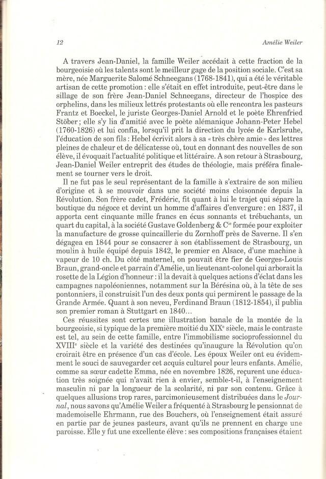 Journal d'une jeune fille mal dans son siècle de Amélie WEILER 1211
