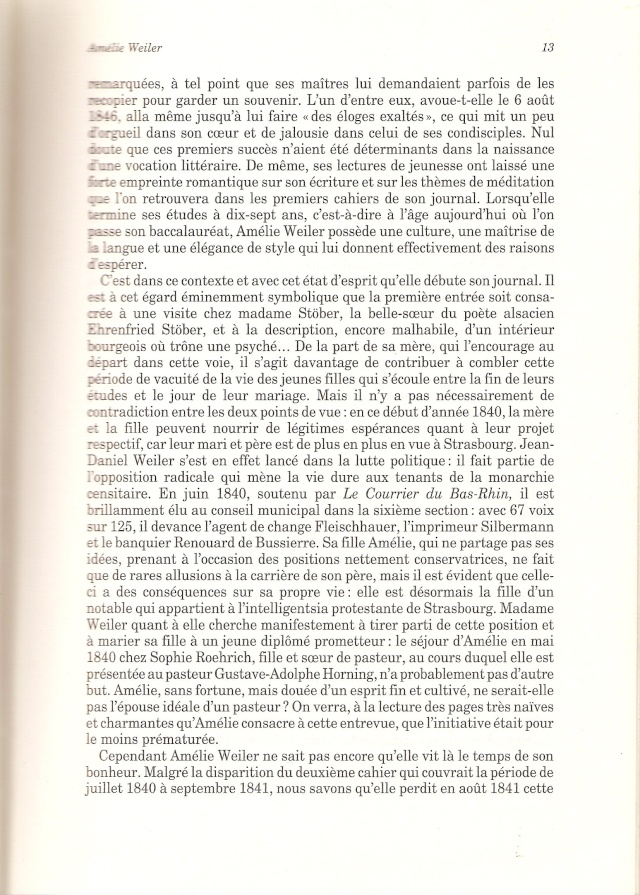 Journal d'une jeune fille mal dans son siècle de Amélie WEILER 1316