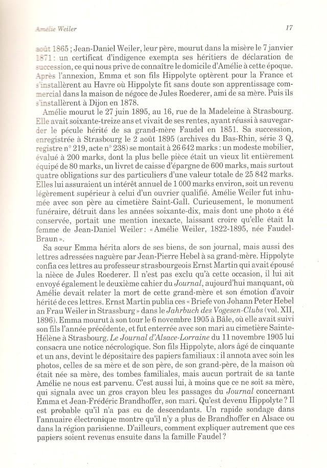 Journal d'une jeune fille mal dans son siècle de Amélie WEILER 1712
