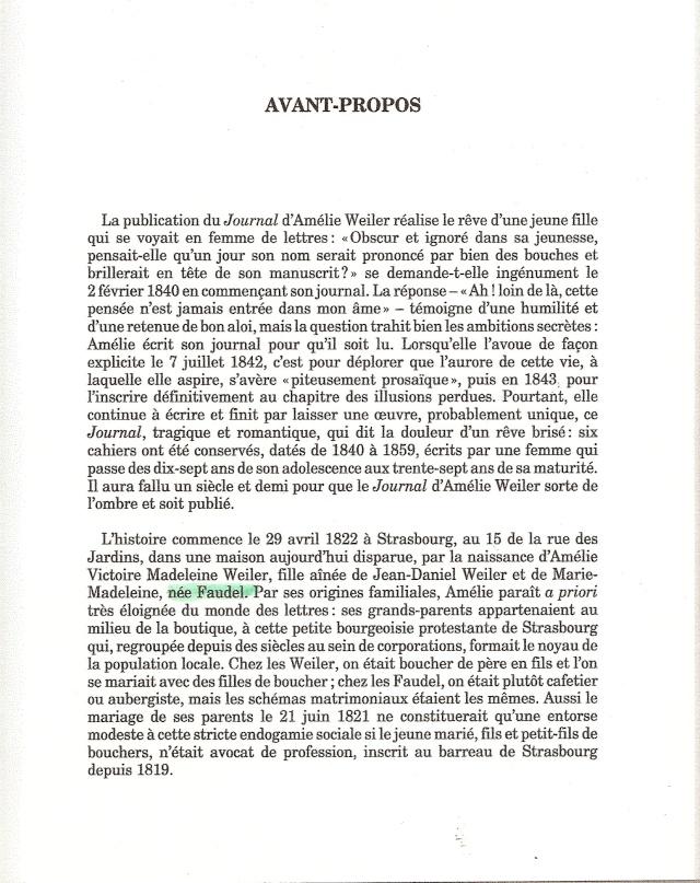 Journal d'une jeune fille mal dans son siècle de Amélie WEILER Scanne10