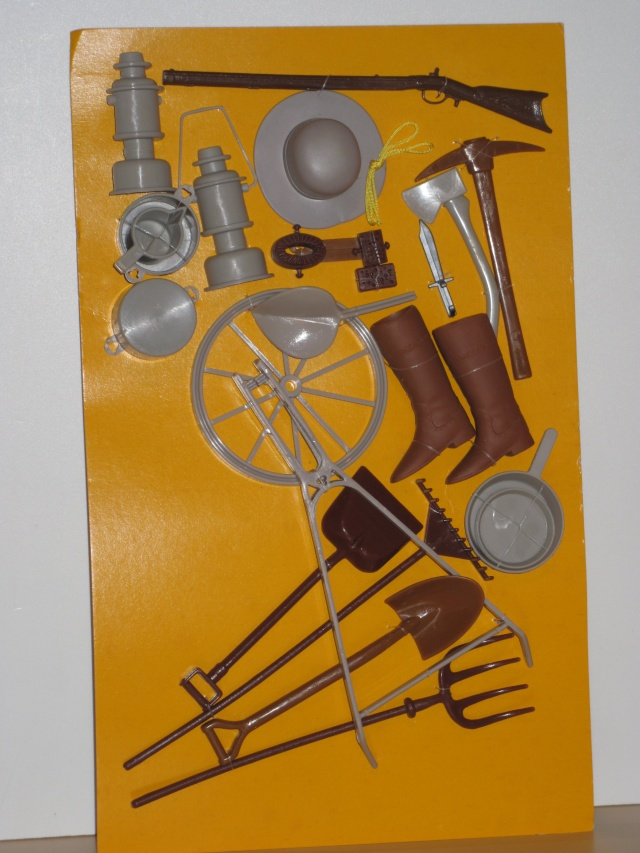 SCHEDA DI: SET Adventure Gear N°2175/ 1978  (pioniere western) Advent16