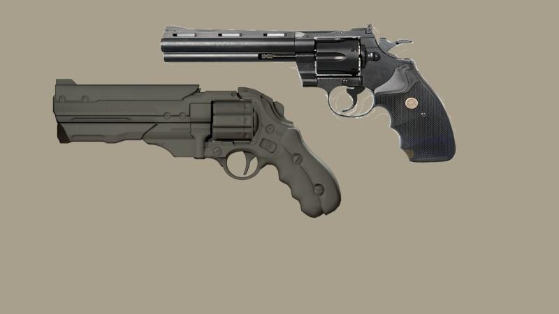 "[KWC] Colt Python 6"" Magnum11"