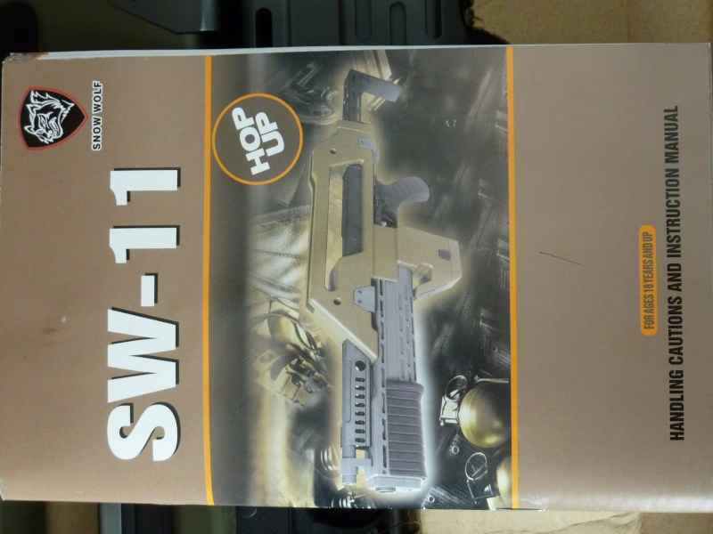 Review M41A pulse rifle (Snow Wolf) P1040513