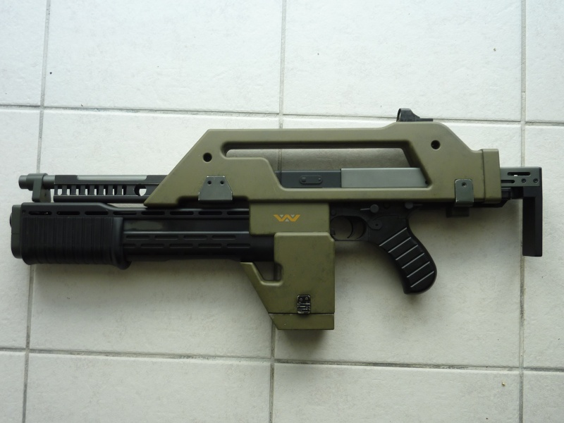 Review M41A pulse rifle (Snow Wolf) P1040543
