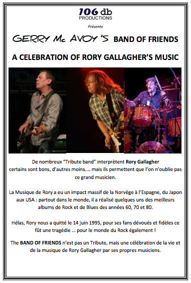 Band Of Friends - A celebration of the music of Rory Gallagher Image138