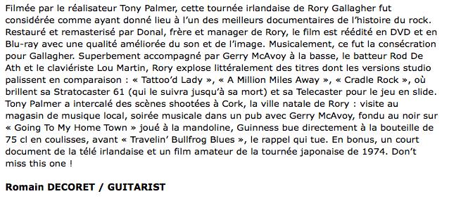 Irish Tour (Tony Palmer's Film - 1974) - Page 9 Image155
