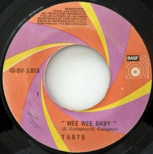 Taste - In The Beginning (Demo 1967) Image167