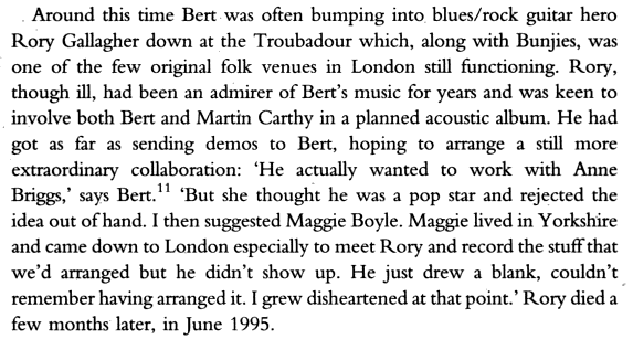 Colin Harper - Dazzling Stranger: Bert Jansch and the British Folk and Blues Revival (2006) Image187