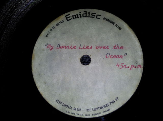 Slowdown/My Bonnie lies Over The Ocean (1964) Image303